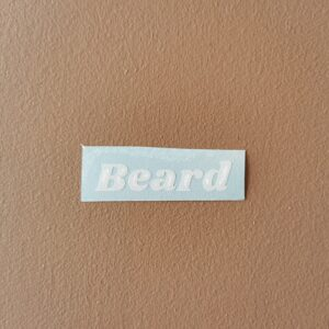 Label beard