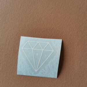 diamant tynn hvit